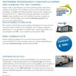 Najaarsnieuws van Duijndam Caravans & Campers