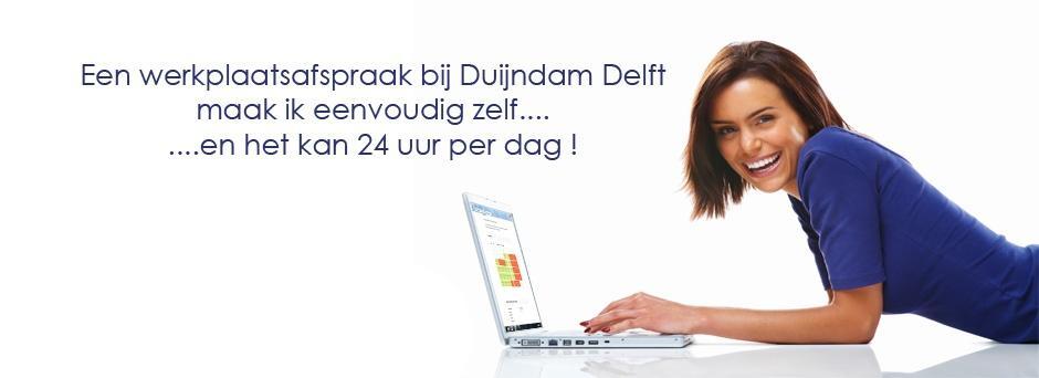 Duijndam Plan-uw-werkplaatsafspraak