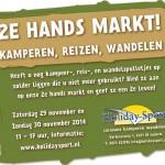 2e hands markt 29 en 30 november 2014